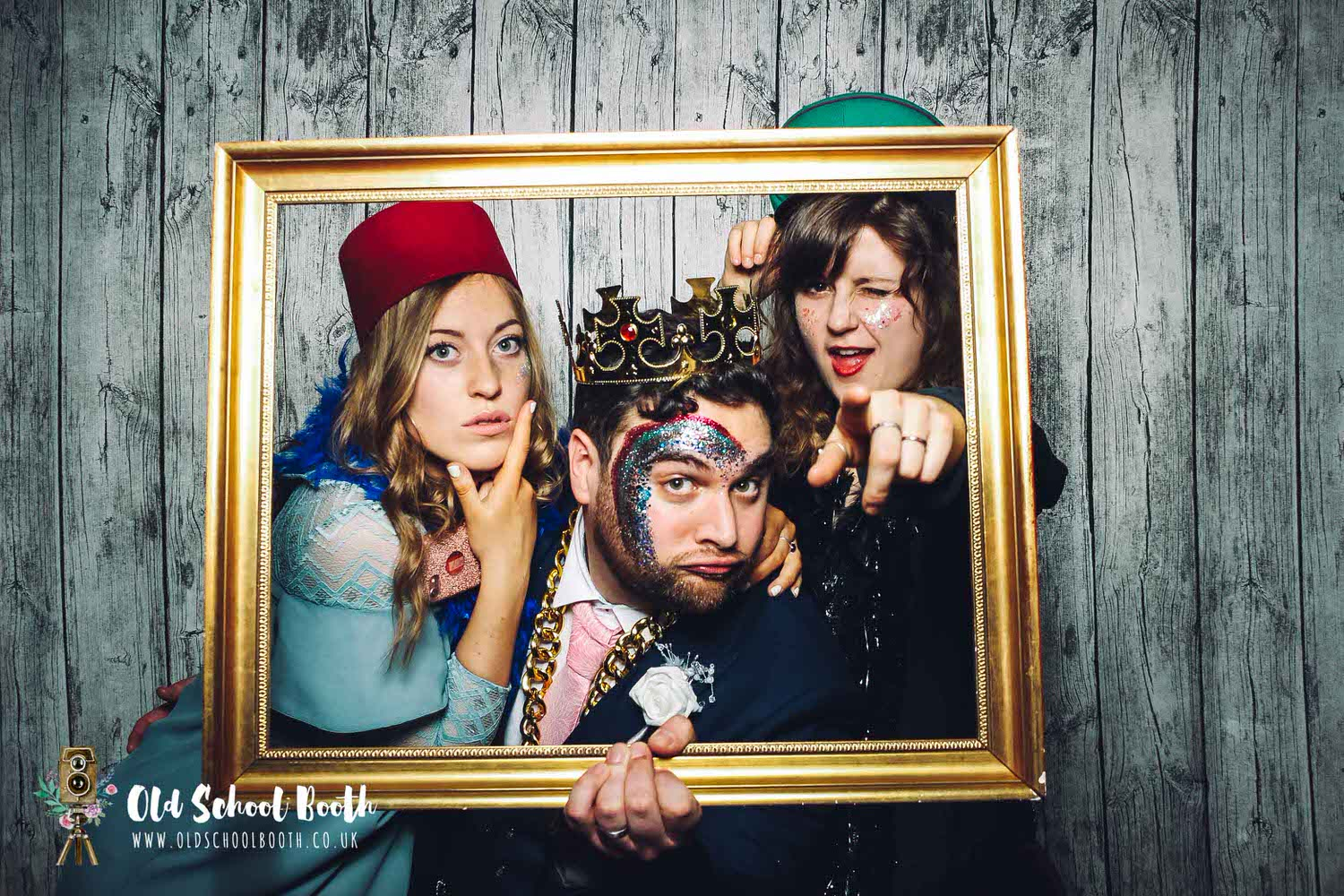 vintage photo booth north west