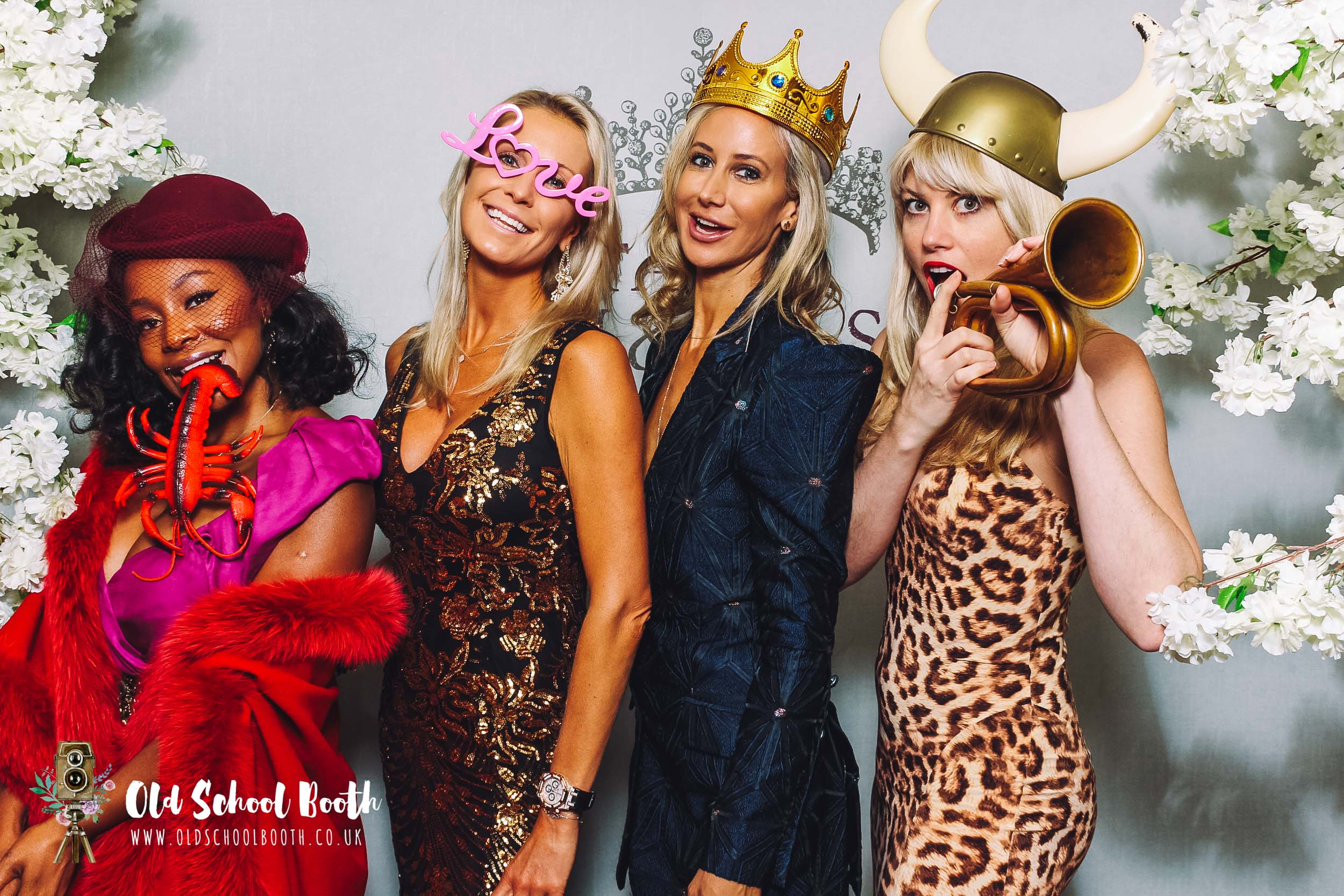 charity ball london photo booth