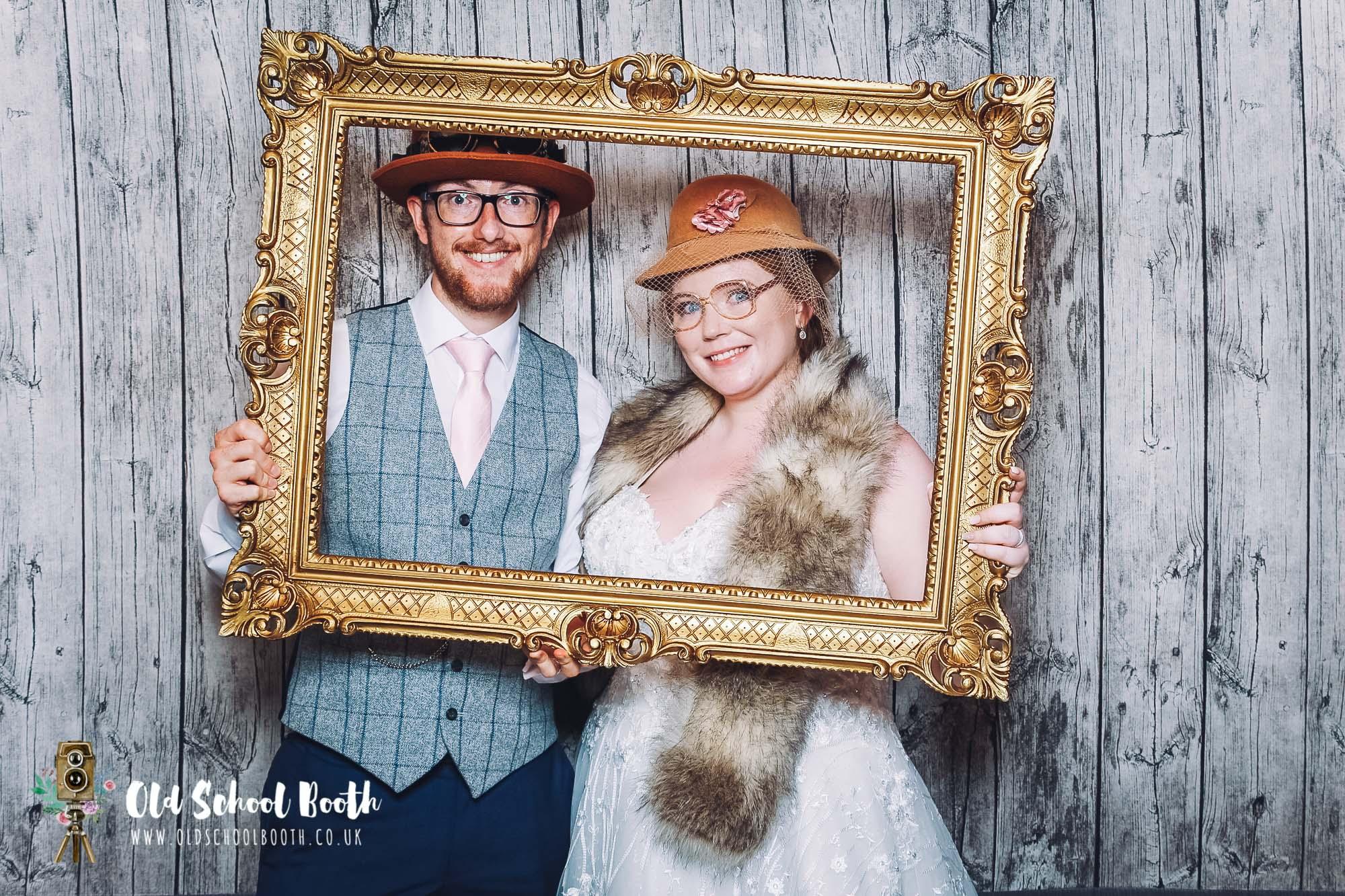 luxury wedding photo booth