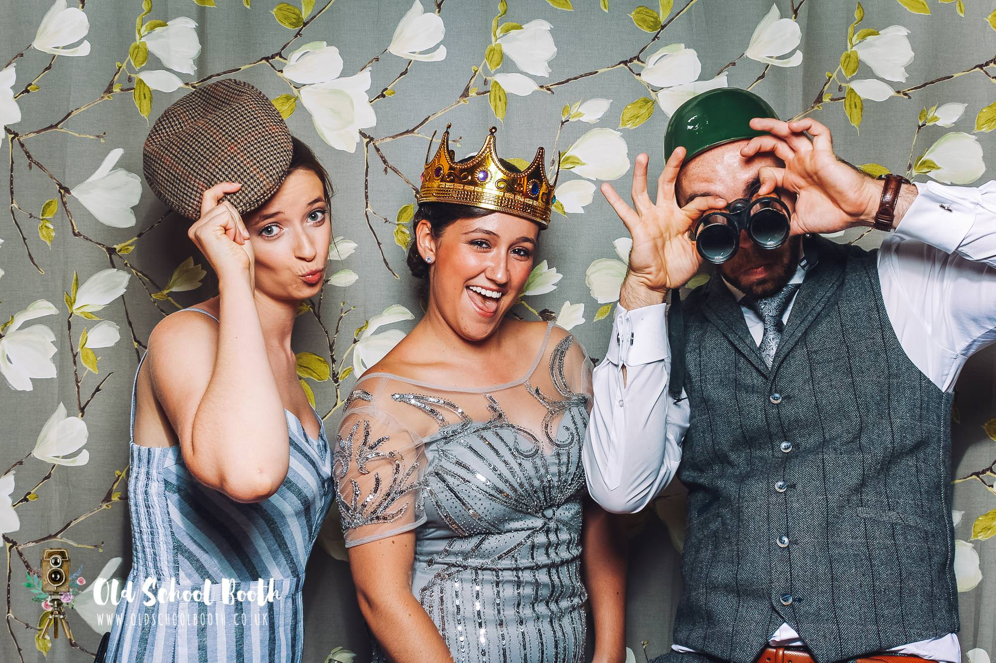 Vintage photo booth hire lincolnshire