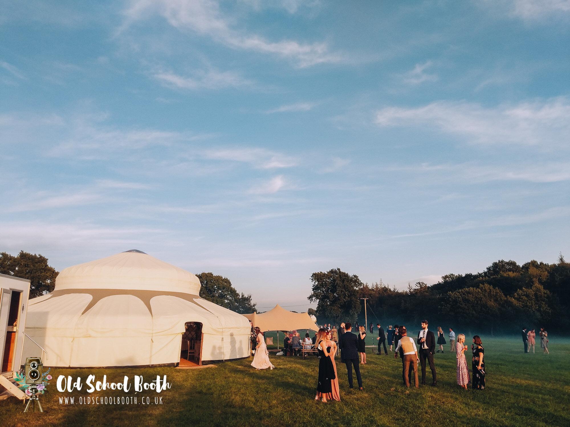 yurt wedding uk