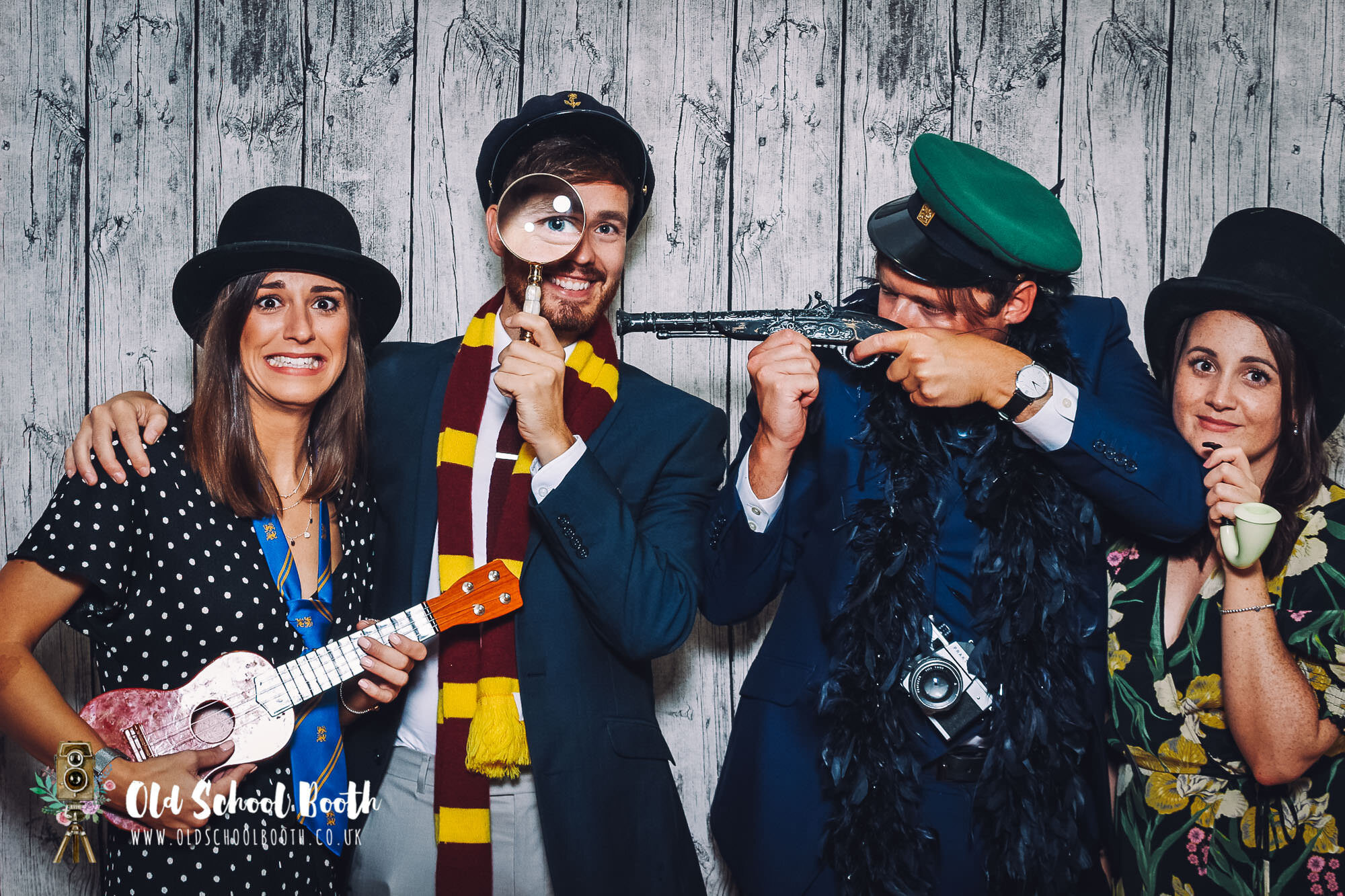 The Pumping House Ollerton Wedding : Vintage Photo Booth Hire