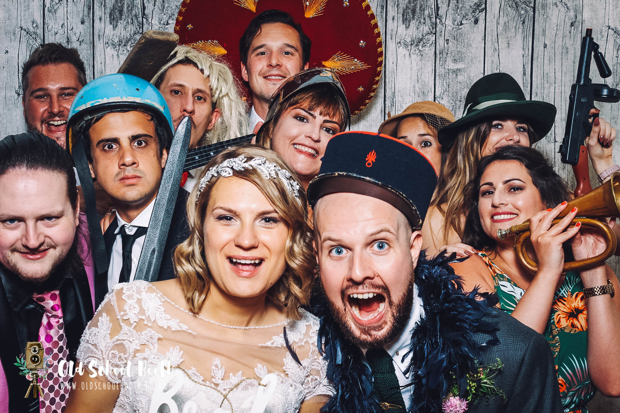 The Pumping House Ollerton Wedding : Old School Photo Booth Hire