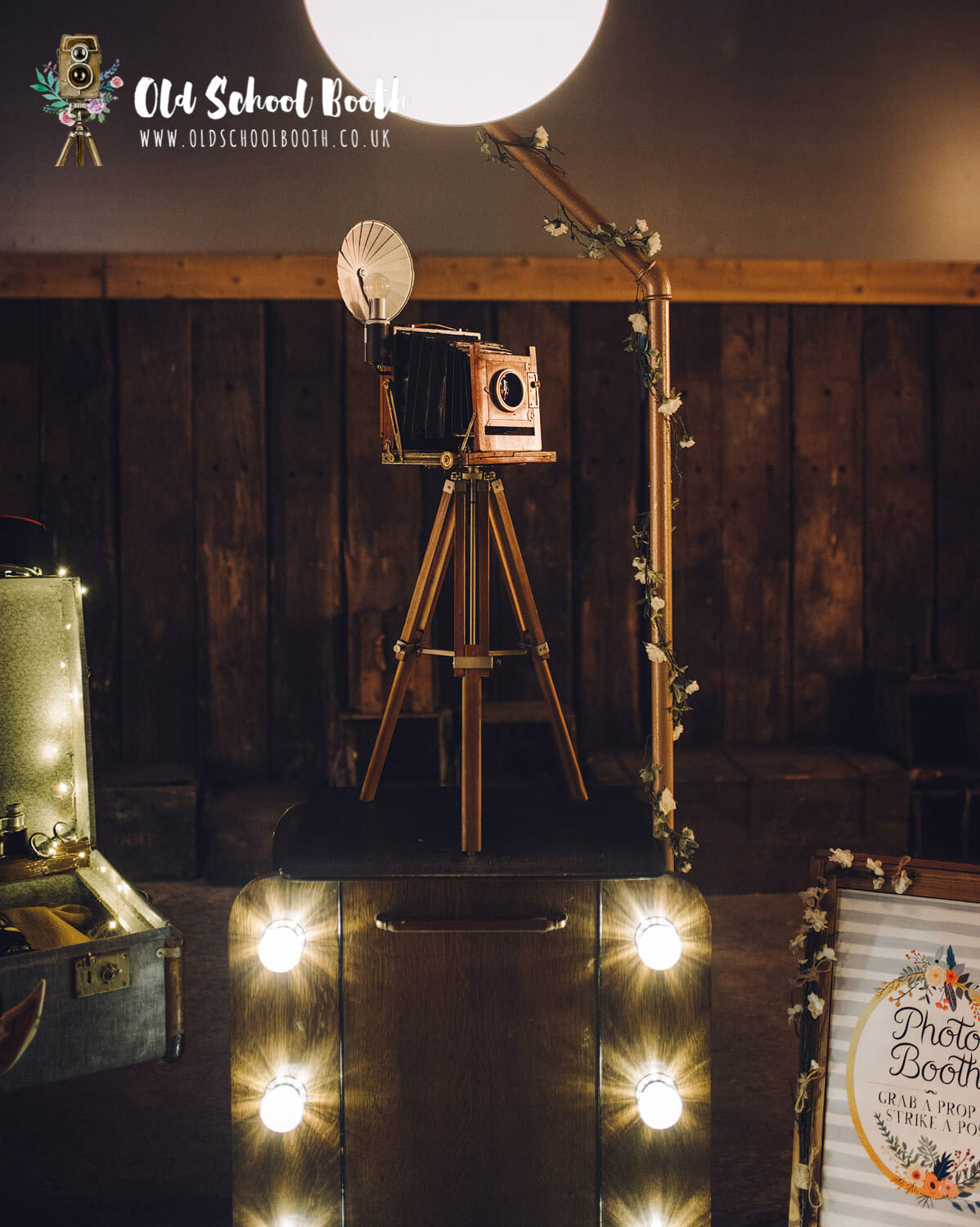 vintage photo booth hire derbyshire
