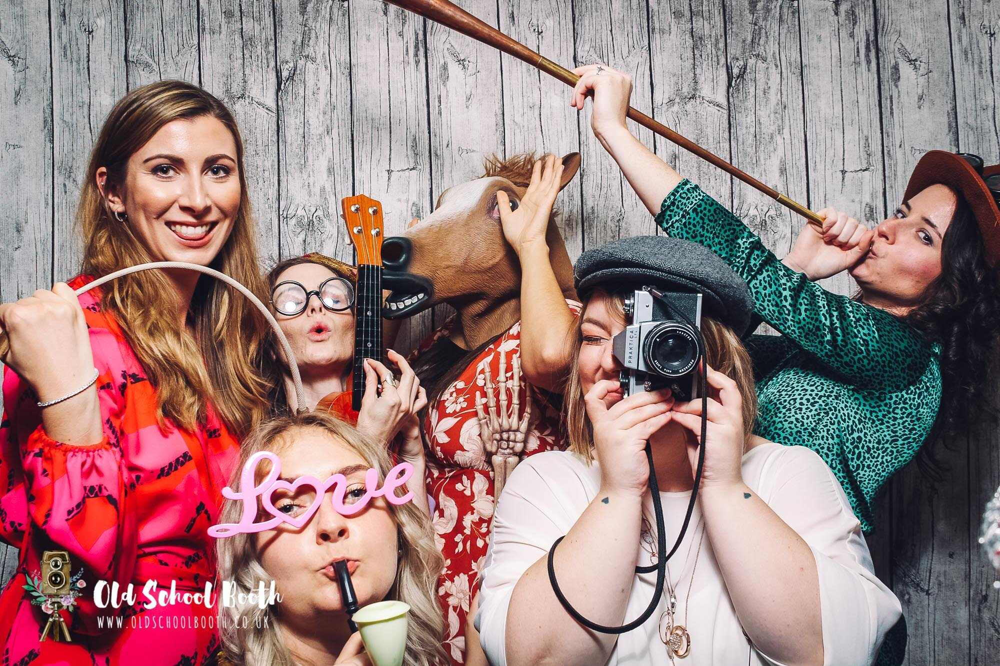 Open Air Vintage photo booth
