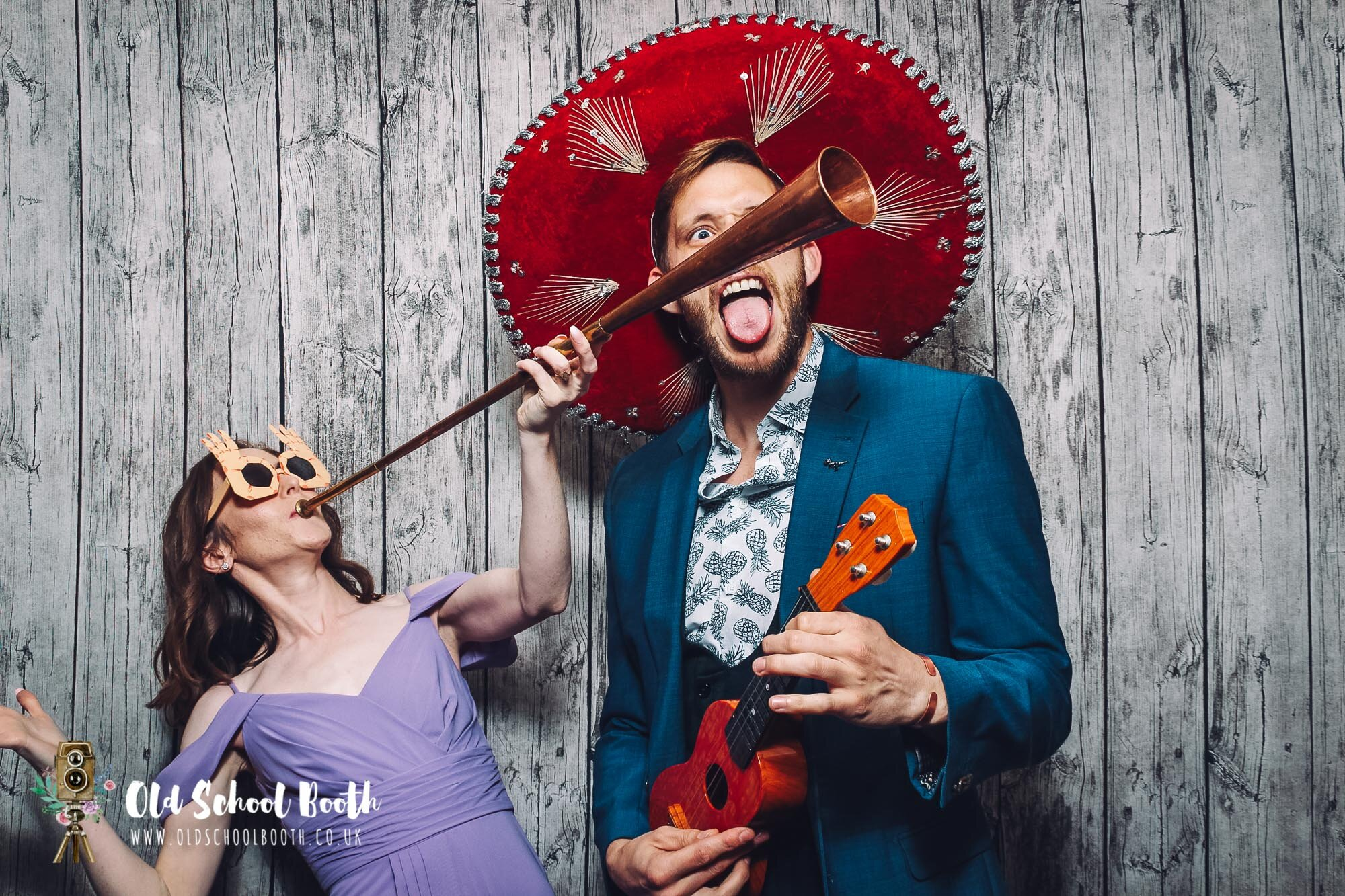 Marquee Wedding Cheshire Photo Booth hire