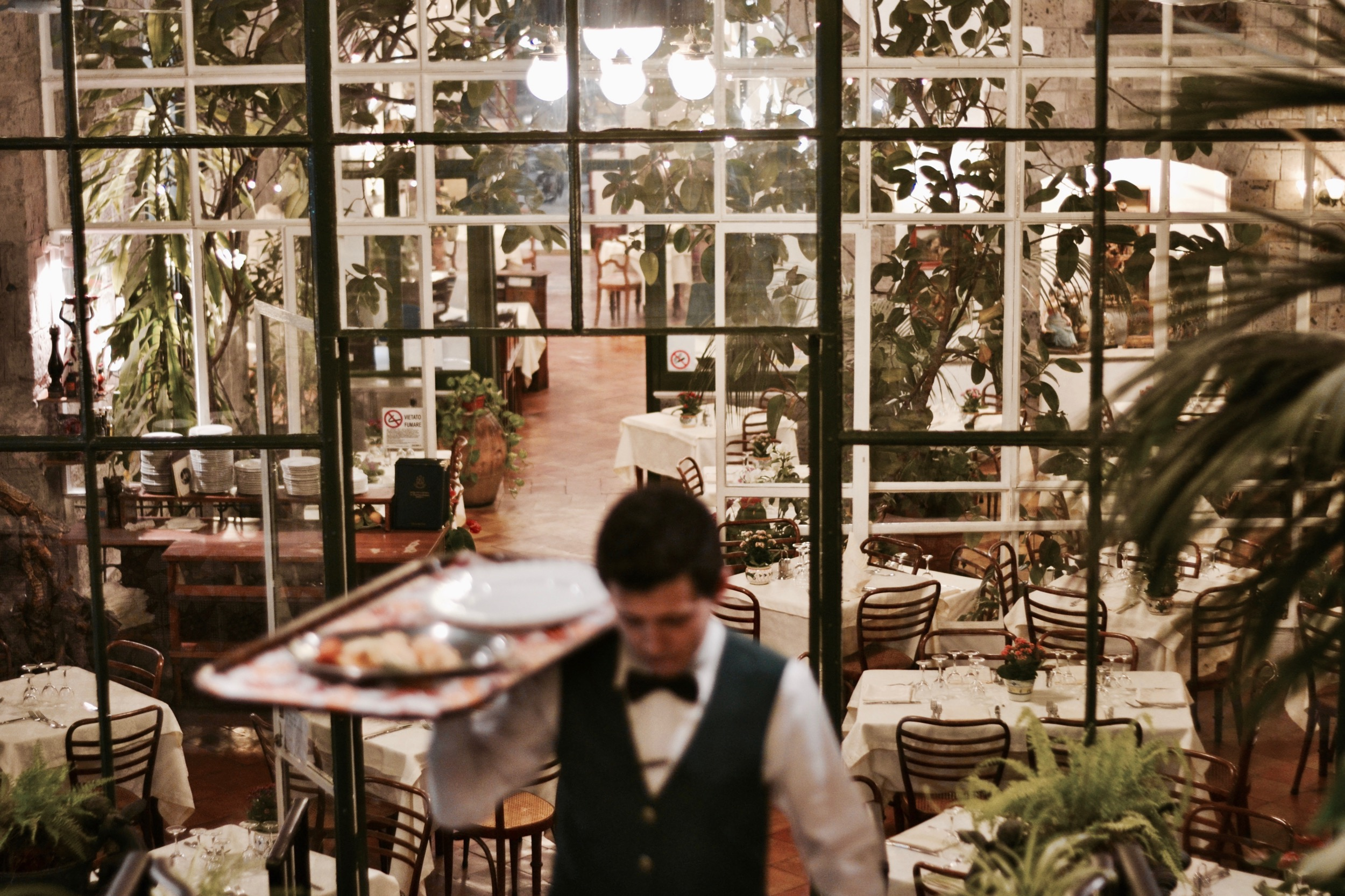 """The """"Museum of hospitality"""", """"'o Parrucchiano"""", historical restaurant of Sorrento"""