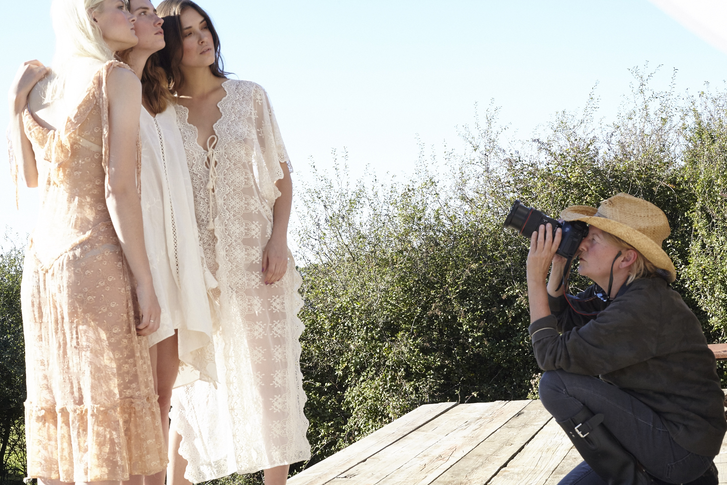 Behind the scenes with Wendy Carrig