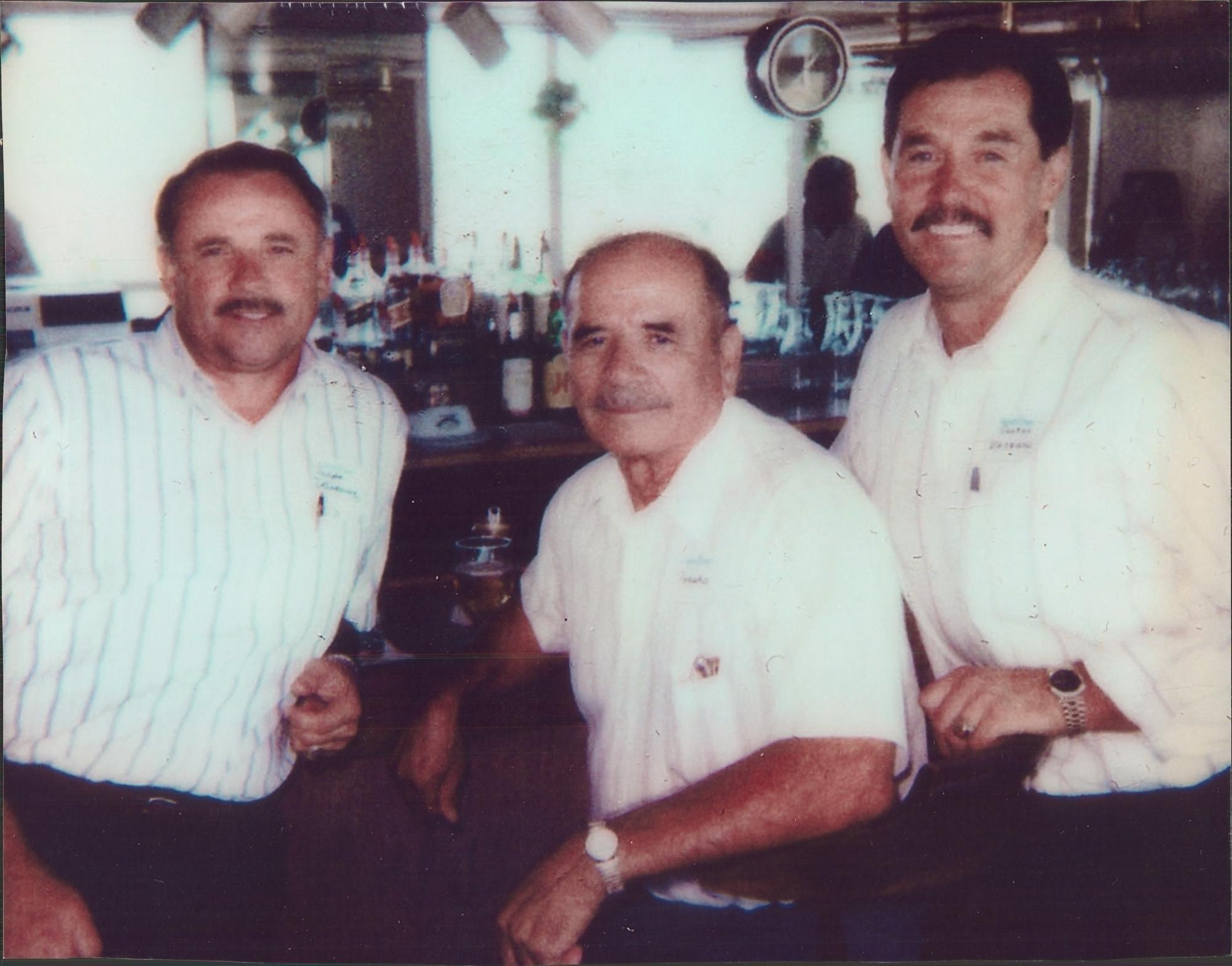 Ralph Vasquez, Eusevio (Poncho) Vasquez and George Vasquez