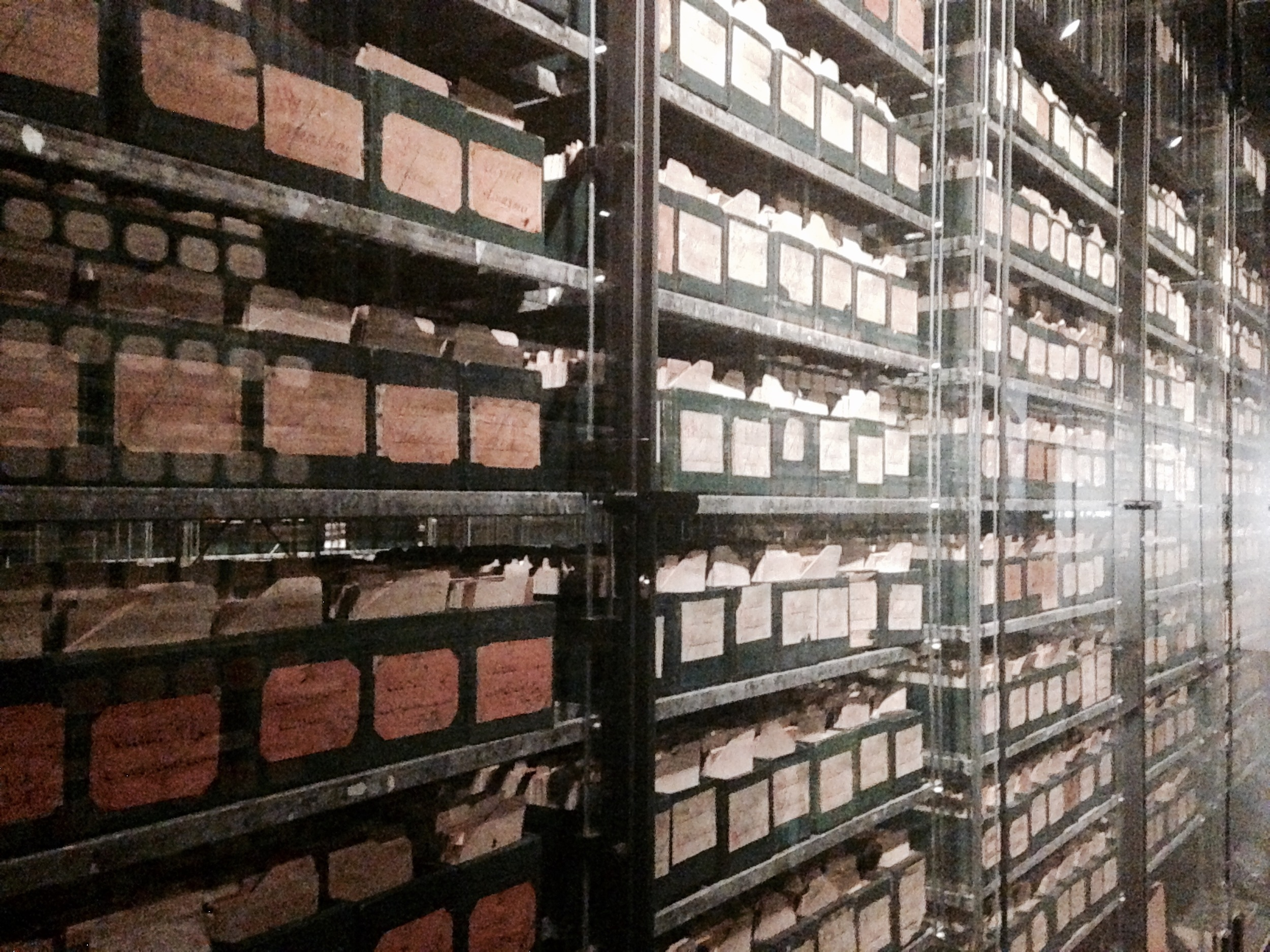 Identification cards for WWI soldiers, declared a monument to human memory by UNESCO