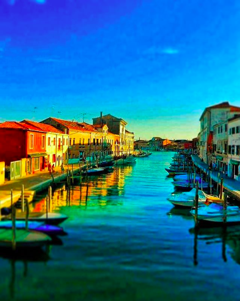 Sunset on Murano is everything you could want out of life