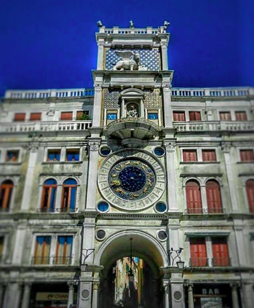 Astronomical Clock at Piazza San Marco