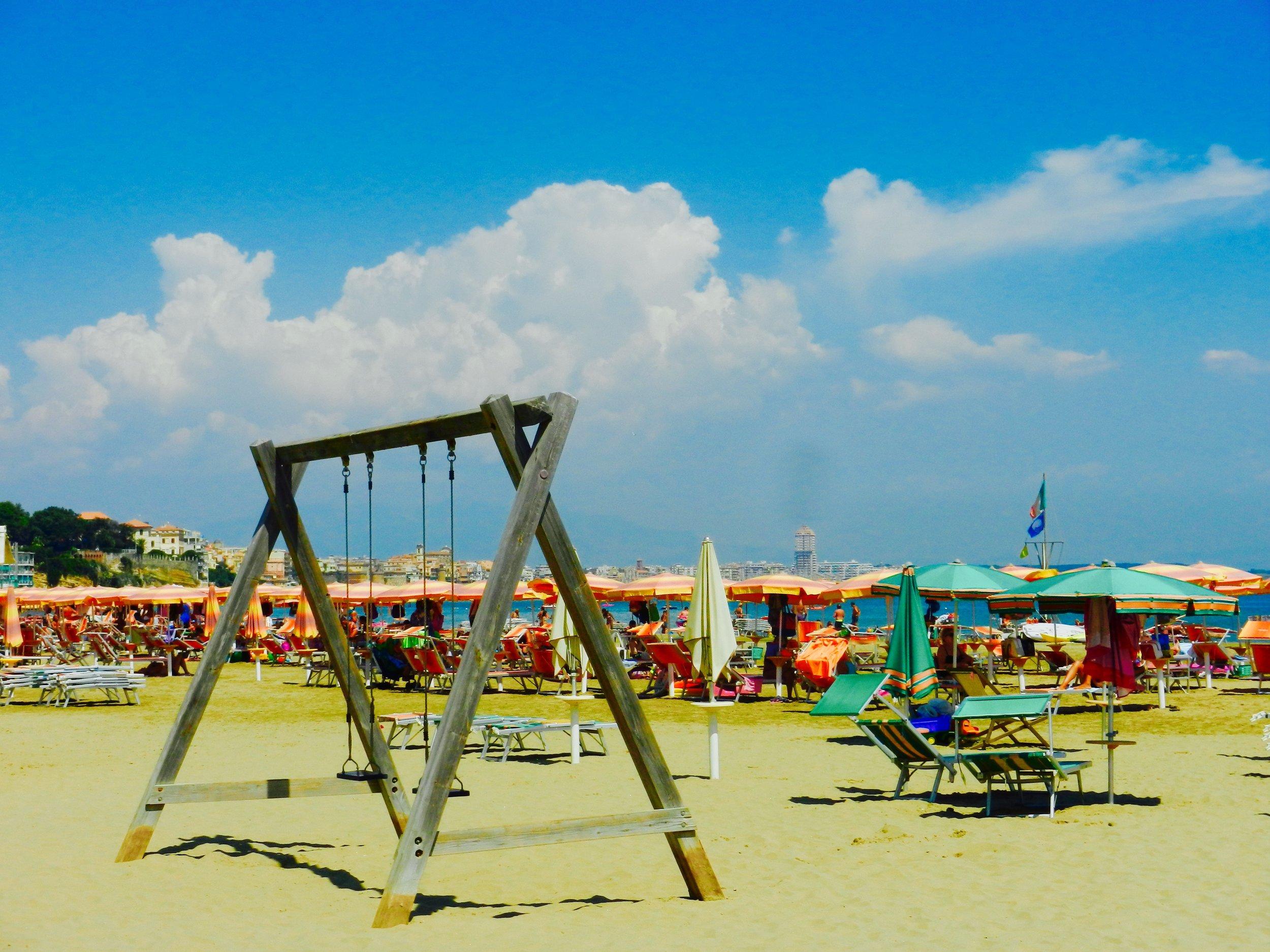 Anzio Beach. Photo by Britnae Purdy