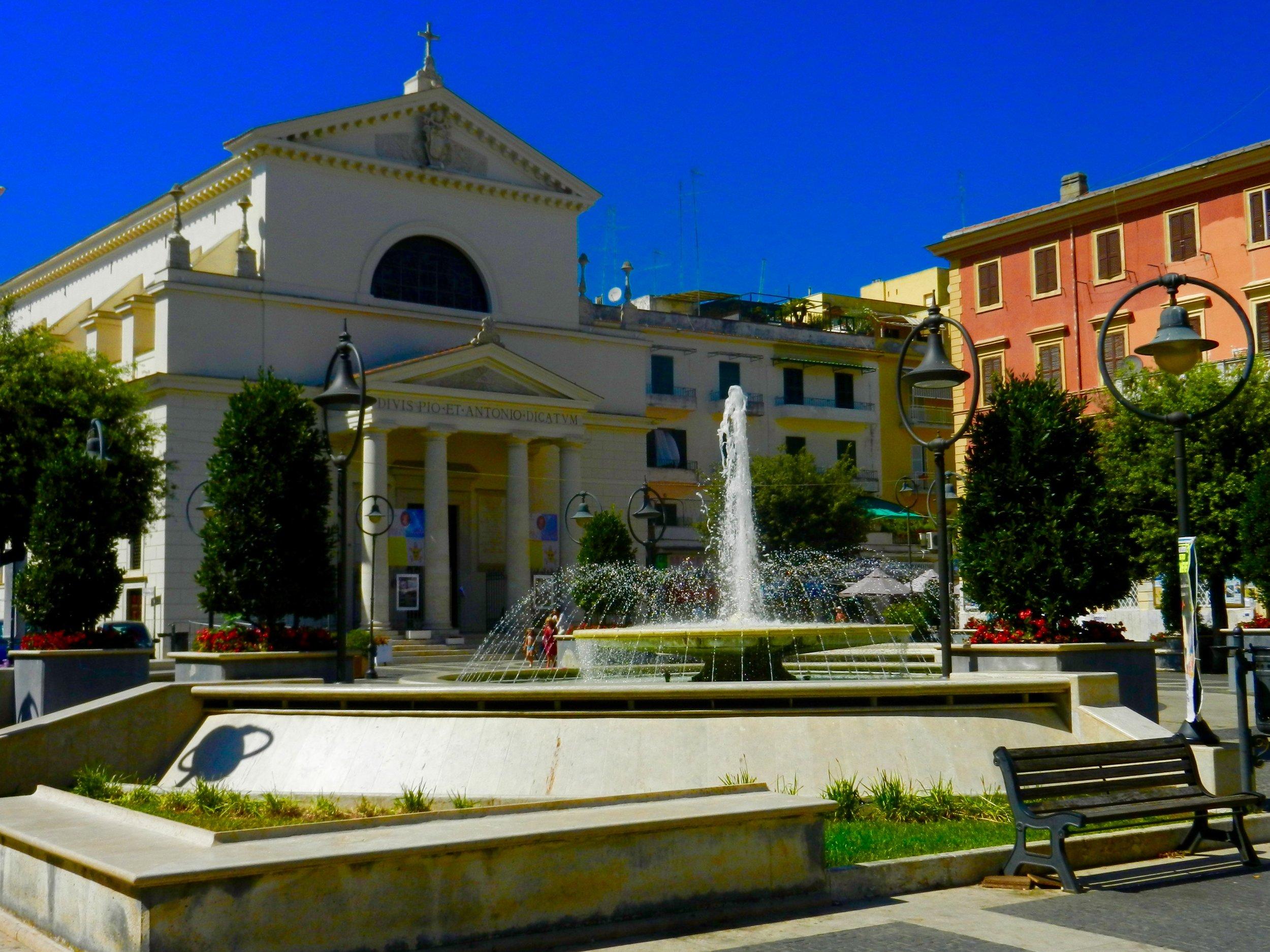 Chiesa dei Santissimi Pio e Antonio. Photo by Britnae Purdy