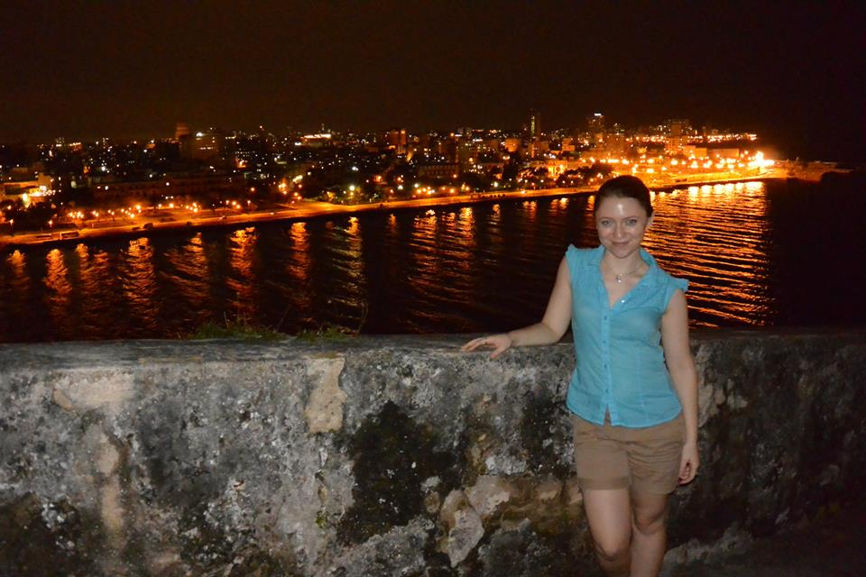 Lights of Havana from the Fortaleza