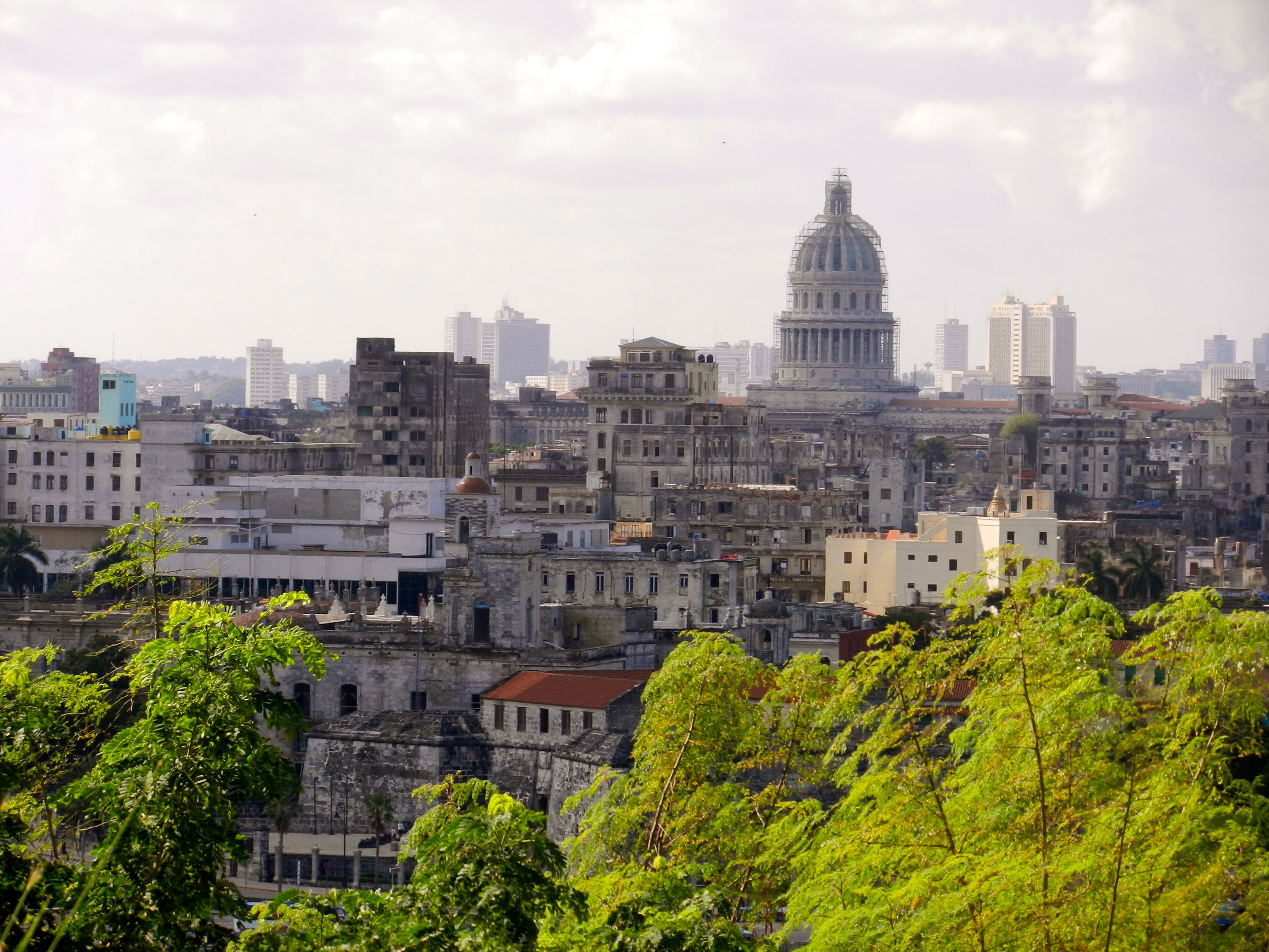 View of Old Havana from Casa Blanca
