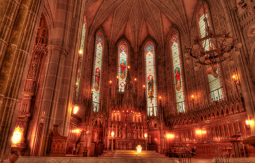 St. Patrick's Basilica. Photo from MTLBlog