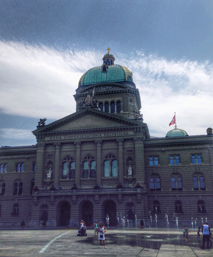 The Bundestag, or Parliament Building