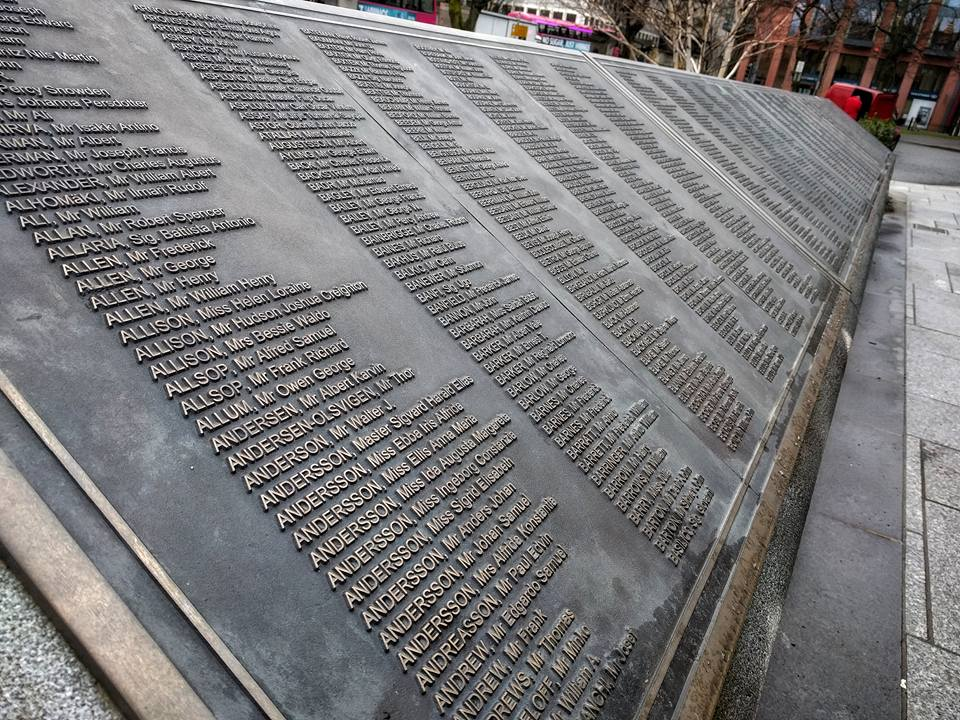 But about that boat... - Interested in the Titanic, but don't want to shell out the 18 pounds and recommended 2 hours to take it all in at the Titanic Belfast Museum? Grab a morning coffee and spend some time in the Titanic Memorial Garden. Located outside City Hall, the statue and accompanying plaque painstakingly lists the names of all victims of the wreck and makes for a quiet, contemplative history lesson.