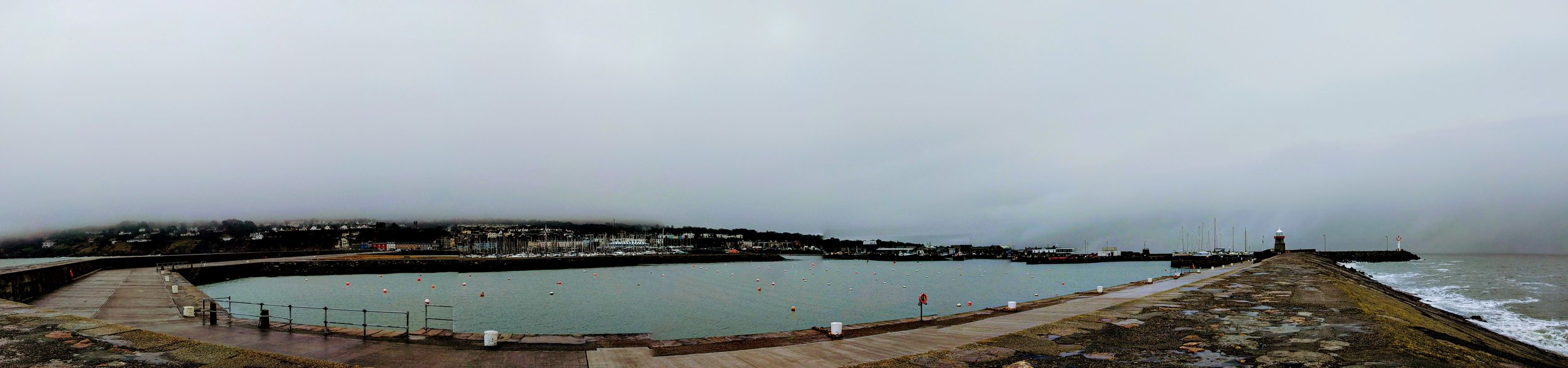 View from the Howth pier