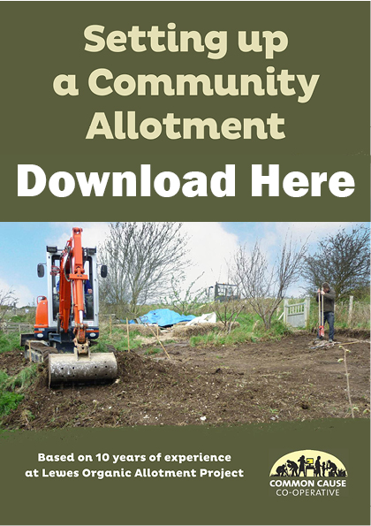 How to set up a Community Allotment by Common Cause