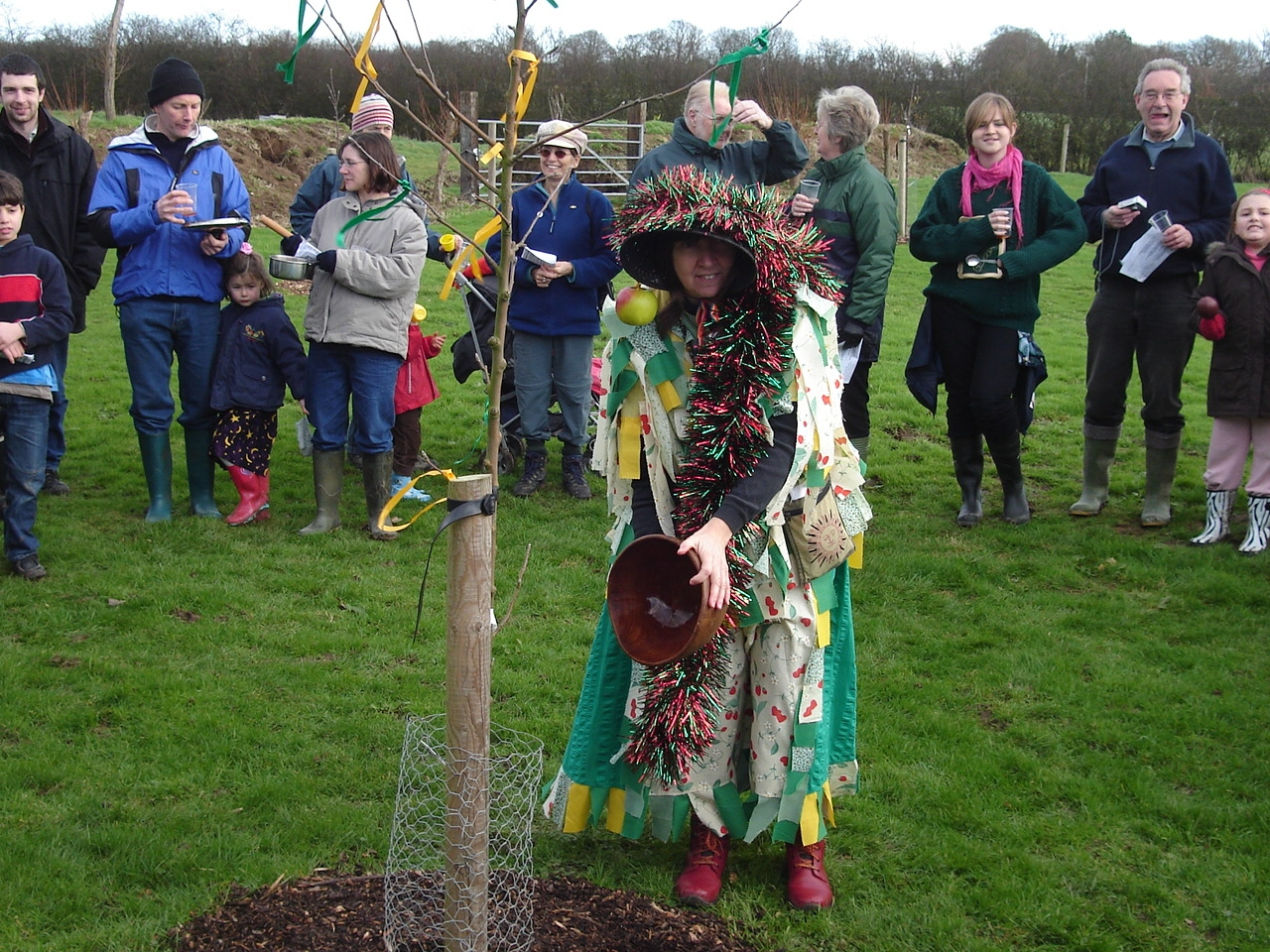 WASSAILING at Ringmer Orchard.JPG