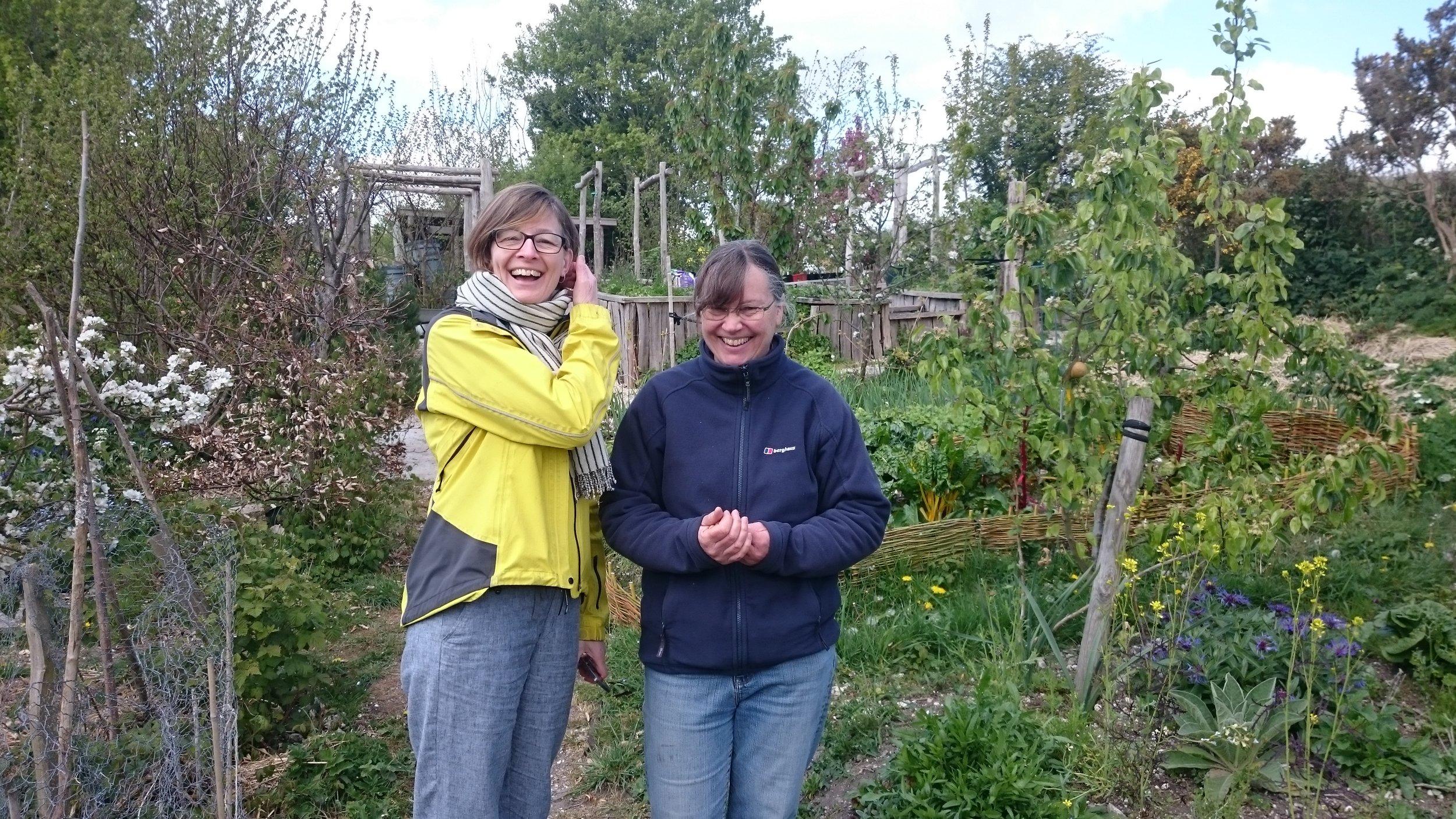 Victoria Williams from Brighton & Hove Food Partnership