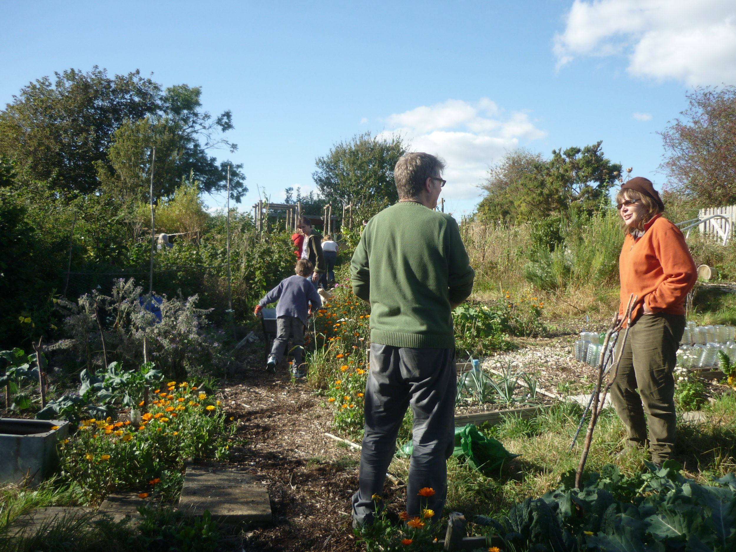Lewes Comunity Allotment members.JPG
