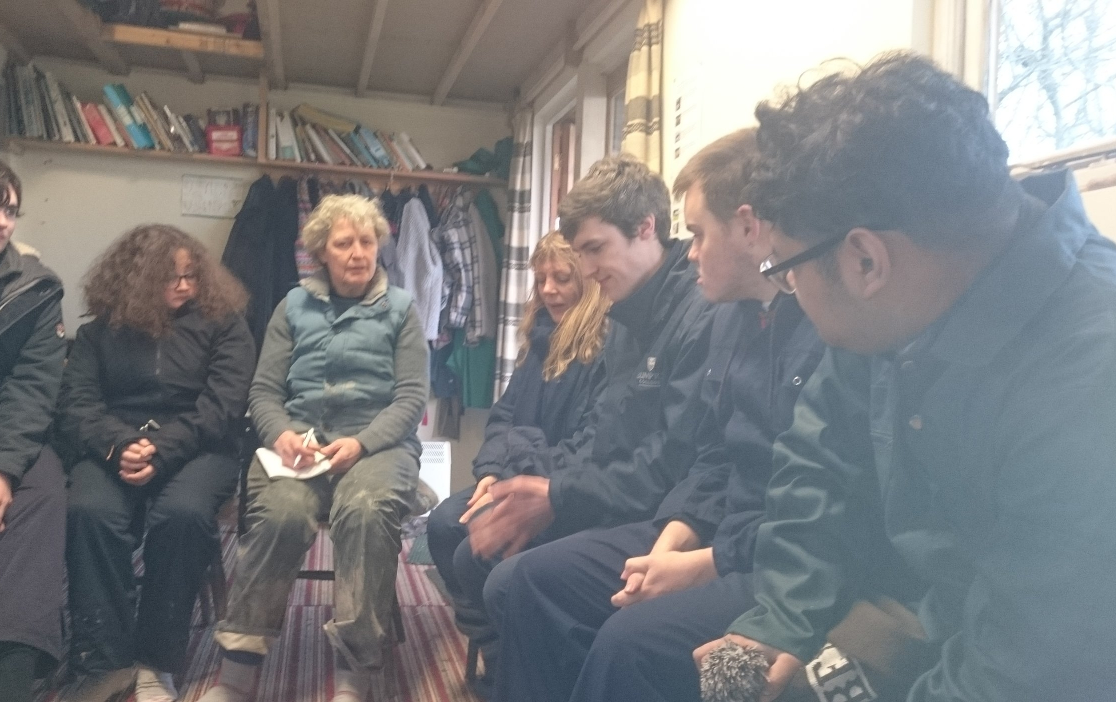 A warm up & a chat about farm health & safety