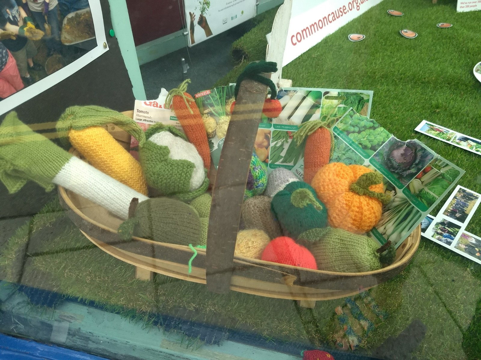 Wonky veg care of Brighton and Hove Food Partnerships