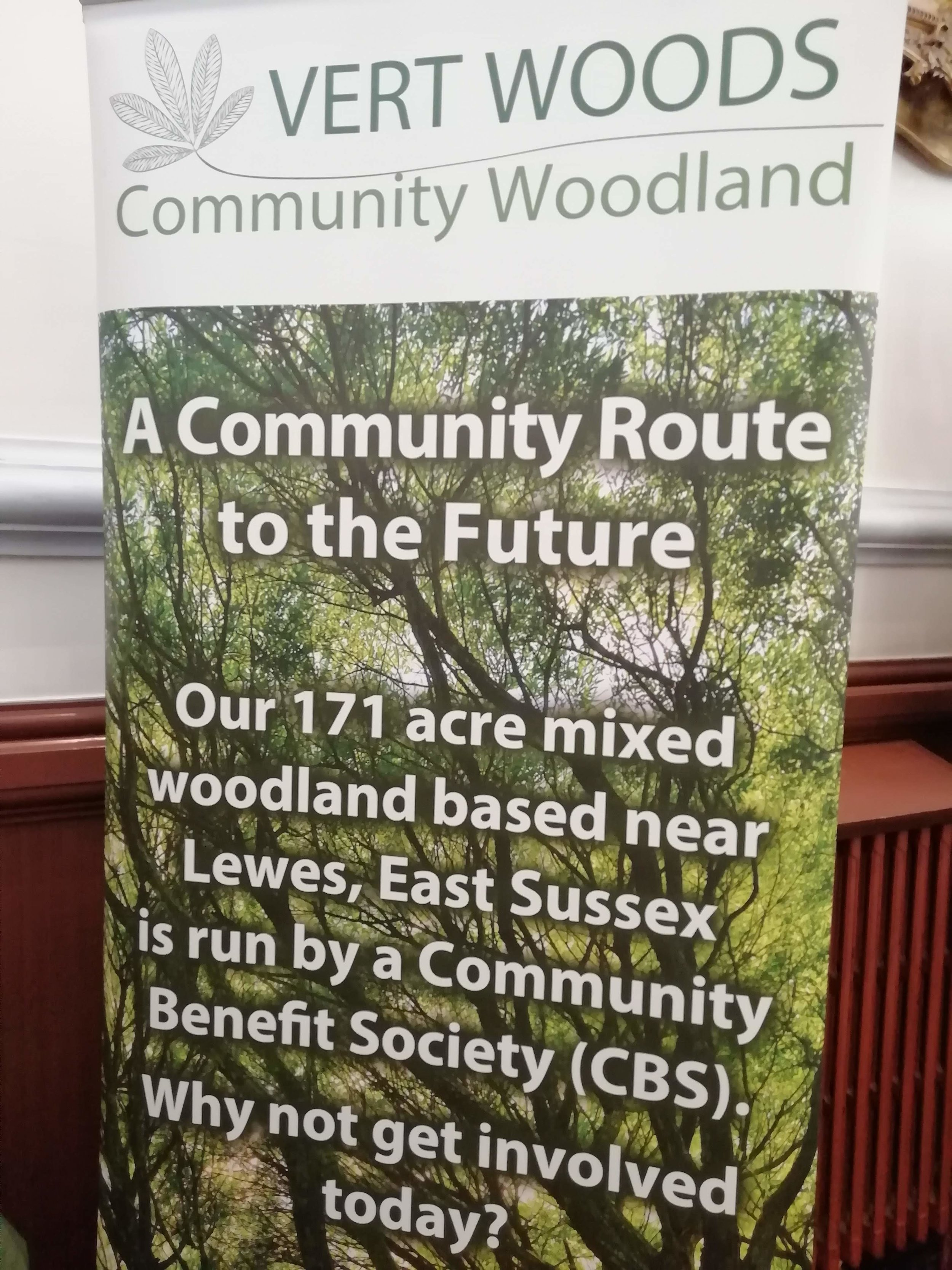 Community woodland enterprise
