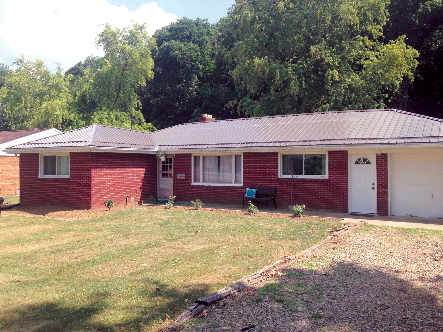 Residential Metal Roofing Project