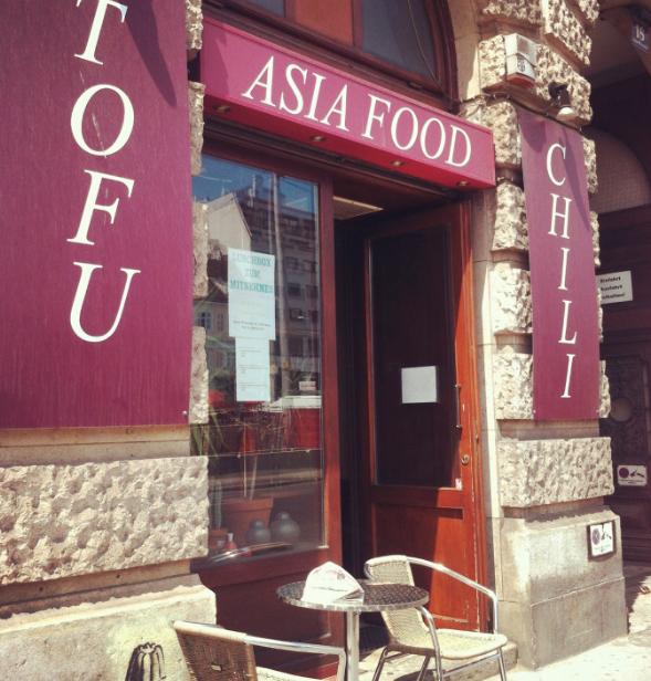 Tofu and Chilli