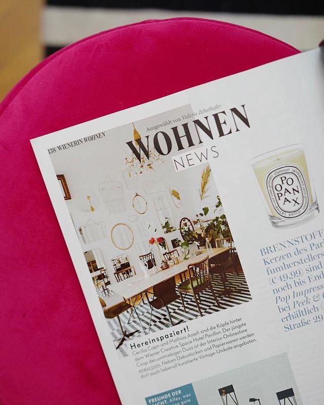 Érieur goes @wienerinmagazin 💌