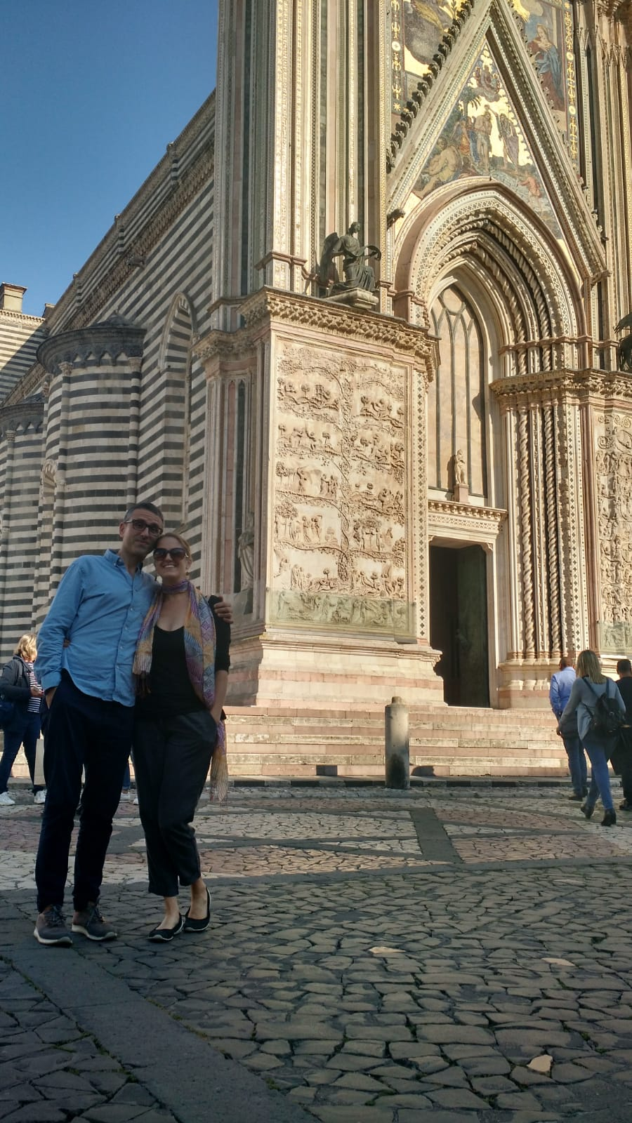 Christopher Webb & Victoria Foulger have been leading tours to Italy since 2009.
