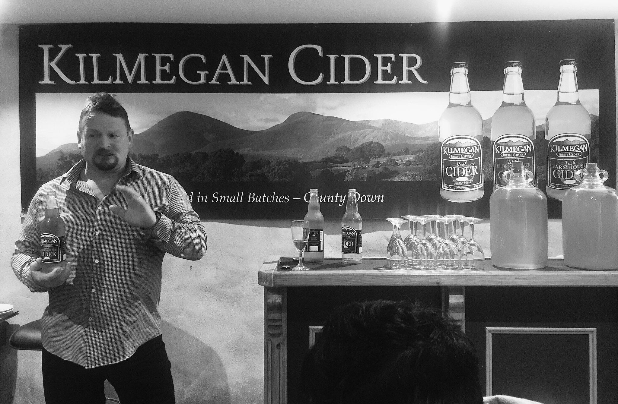 Andrew Boyd of Kilmegan Cider.