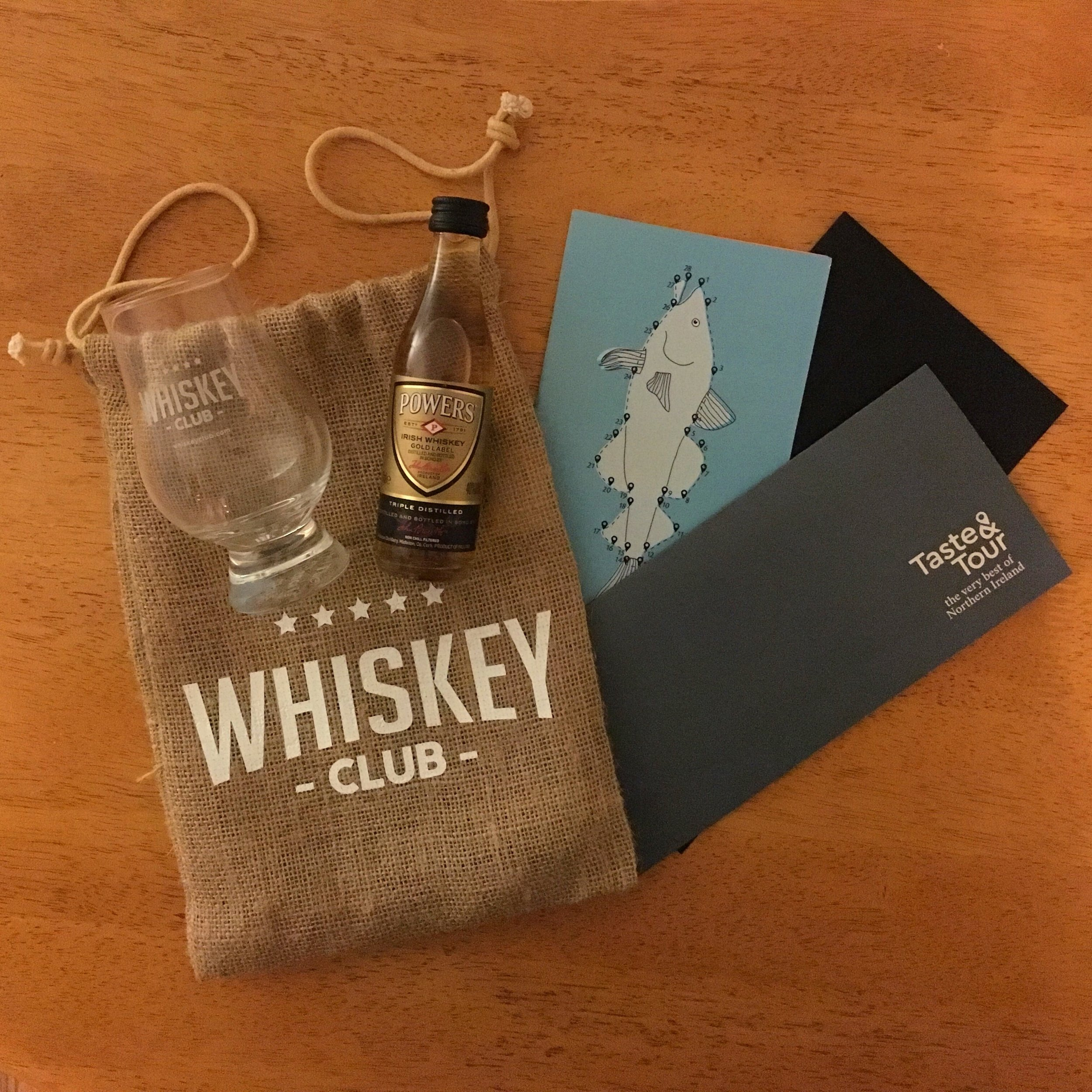 Whiskey Walk Gift Pack Contents...