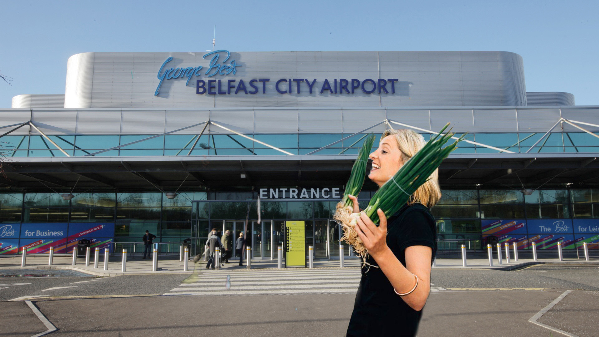 Welcome to Belfast, you Scallions.