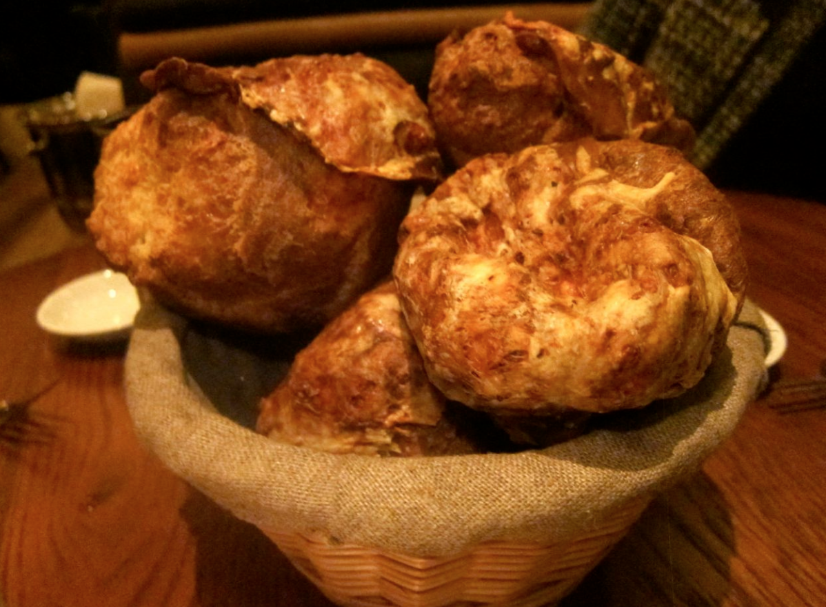 The infamous popovers at Arlington Club in NYC