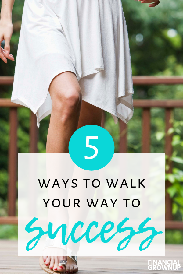 Ditch the coffee and forget the drinks meeting. Walking is a proven way to bring out the most creative ideas- and make the best connections with the people who can help you succeed. We talk how to set up walking meetings, how to generate ideas while walking, and how to keep walking when the weather foils your plans. In this Financial Grownup podcast episode you'll learn 5 different ways to walk your way to success. #SuccessTips #Walking