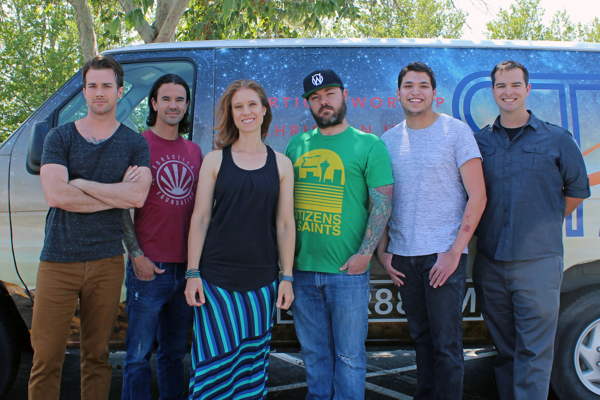 The Star 88 gang Left to Right: Teo, Stevo, me, Dex, Mahoots, Daniel