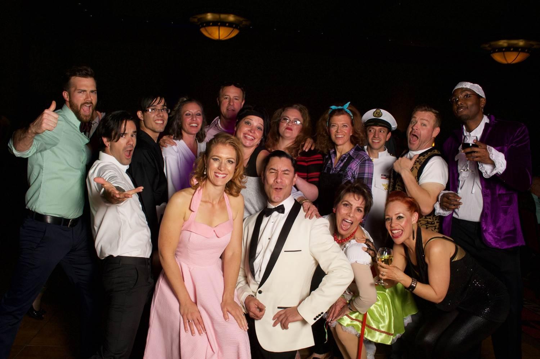 "Participating as a ""celebrity"" dancer for the 2015 Casa Ball"