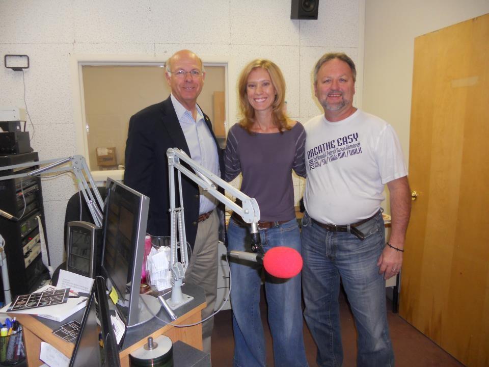 With Congressman Pearce and Dan Rosecrans