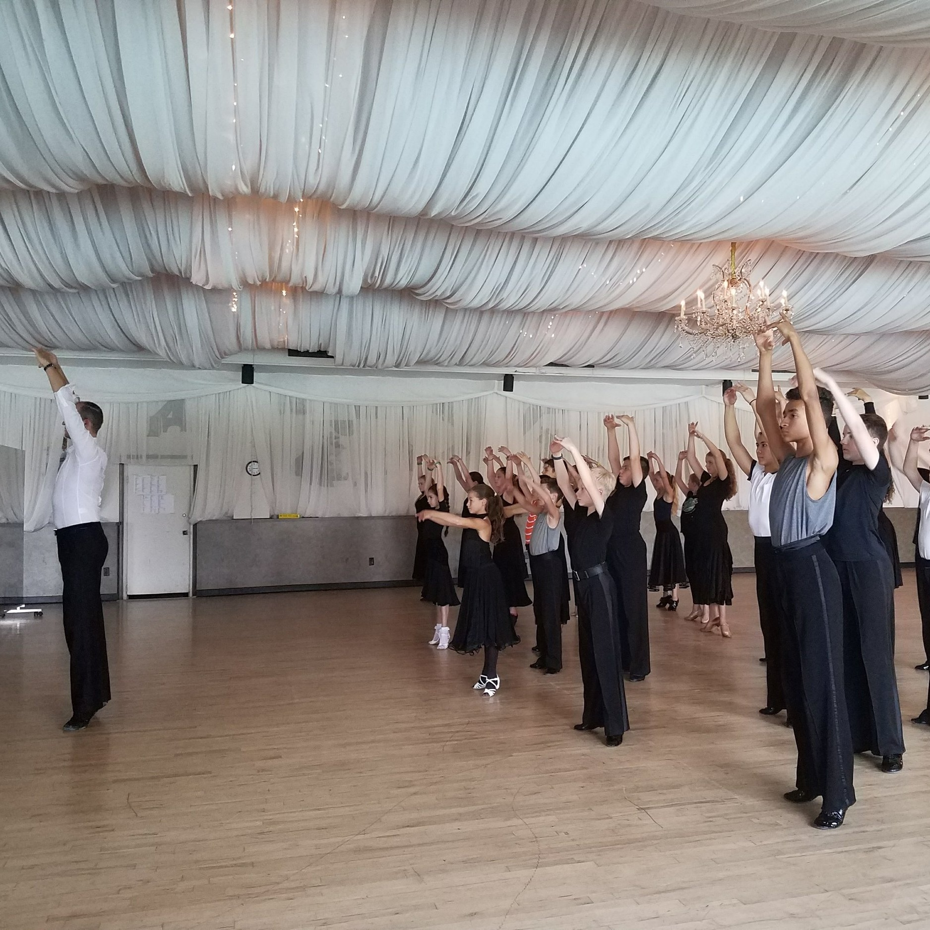- Our exceptional line up of coaches pushes each dancer further than they thought they ever could. They take the time to fully engage with each student and provide them with outstanding out of the box training. Dancers have the opportunity to not only work on their ballroom and latin skills but also try modern and contemporary styles, in turn becoming a more well rounded performer.
