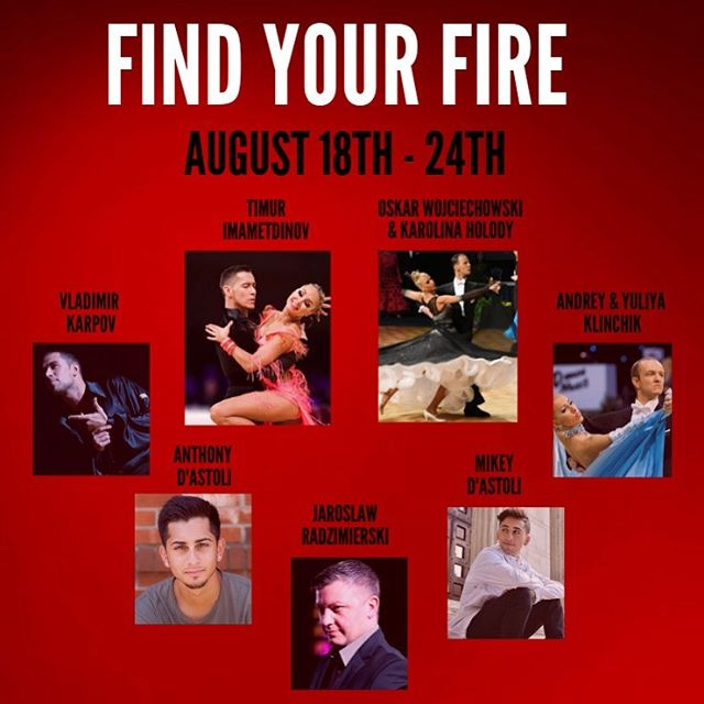 Check out this amazing line up we have prepared for our dancers this year!! Who's coming?!?! 🔥🔥🔥 . . . . . . . . . . . . . .  #findyourfire #vsdc #vivadancecamp #vivacamp #summerdancecamp #summerdance #dancecamp #dance #dancers #dancesport #nydance #njdance