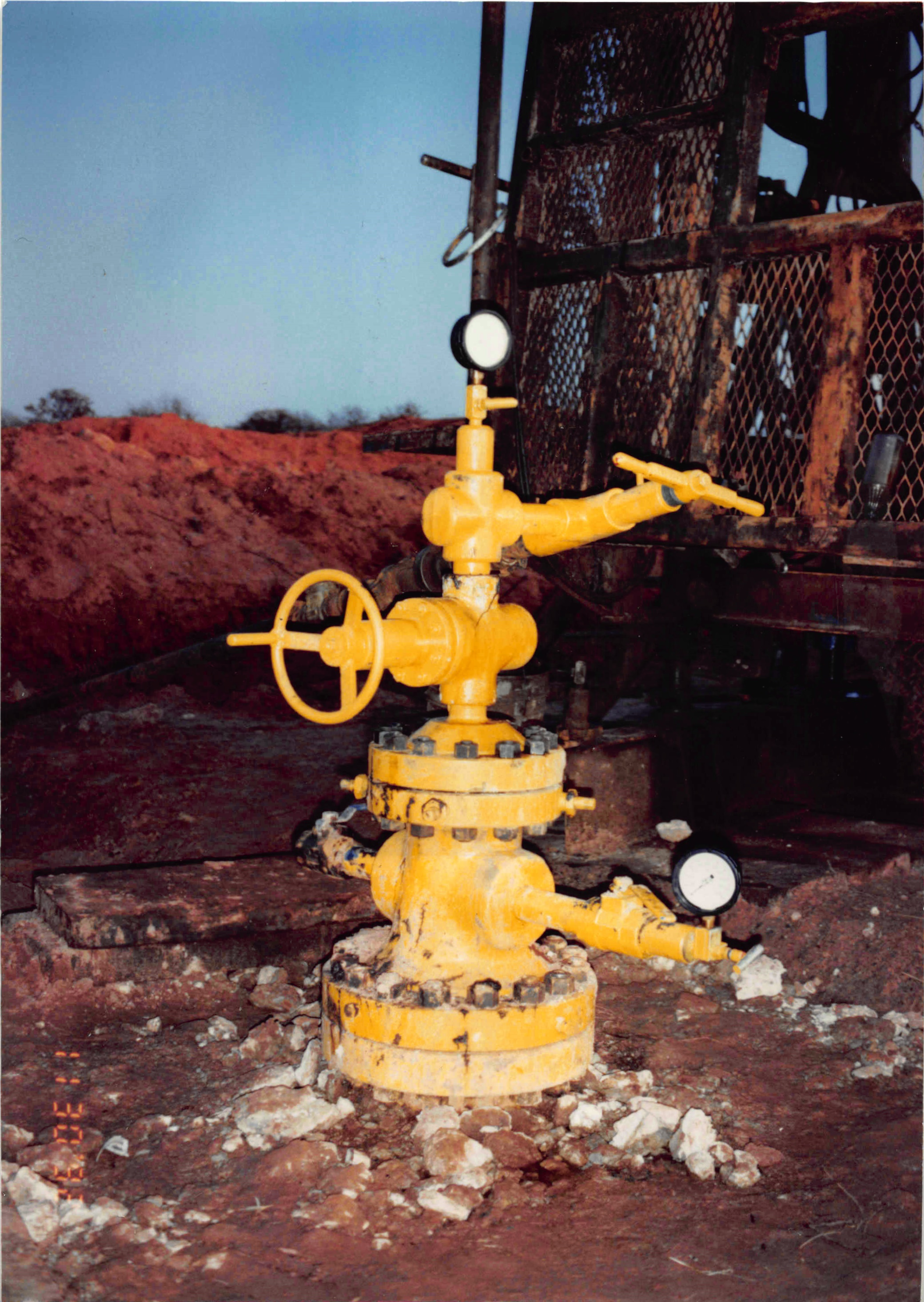 Garrison #1-  29. The first well over which ROX Exploration, Inc. supervised all drilling, completion, and operations.