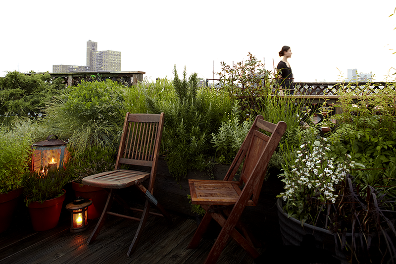 Huntergreen Brooklyn rooftop garden