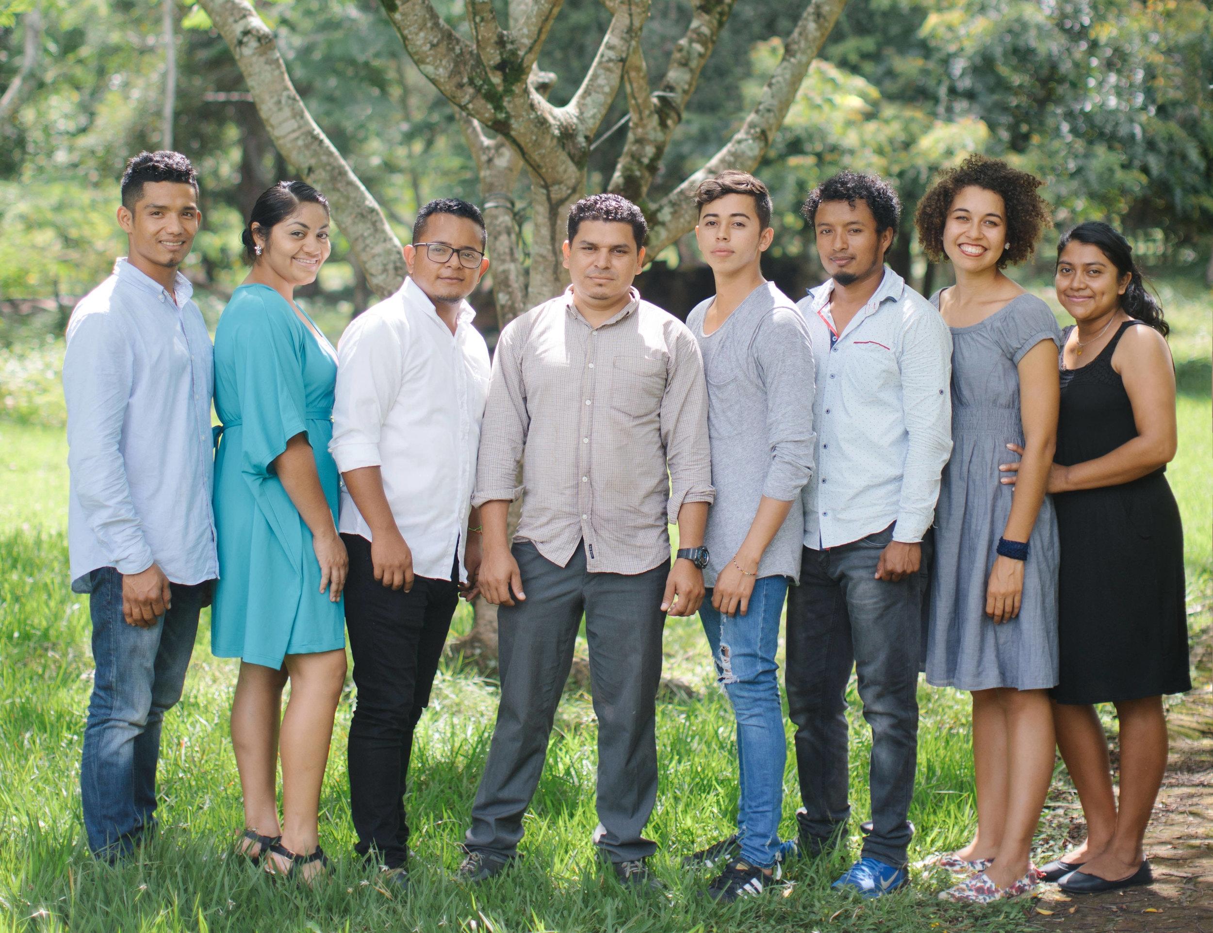 The Mercy Center Staff: Rolando, Nintzy, Abelito, Walter, Amilkar, William, Ellen, and Fany!