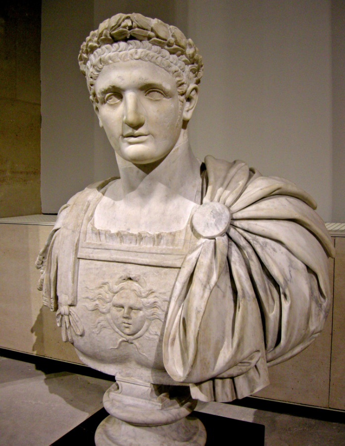 Emperor Titus Flavius Domitianus (ruled: 81-96 AD)   ** Source:https://en.wikipedia.org/wiki/Domitian