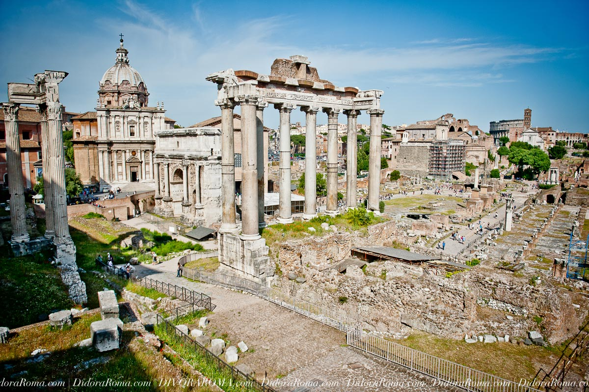 The Roman Forum, Rome, Italy (Images by Alice Falzone for DivoraRoma)